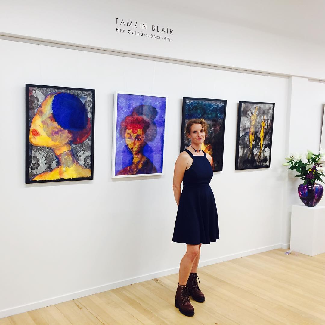 Tamzin Blair 'Her Colours' Exhibition, March 2019.