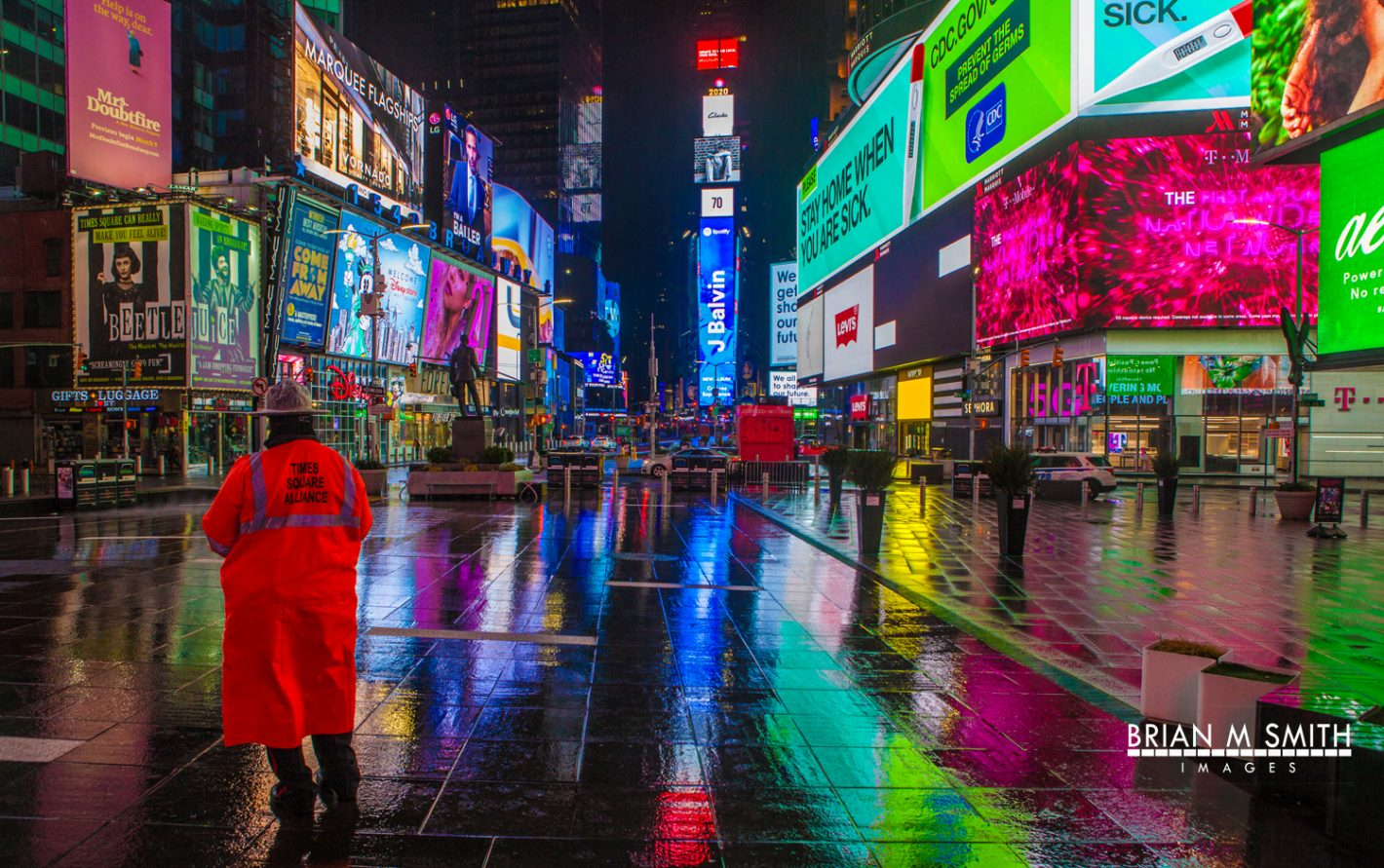 Briam M Smith Images - Times Square Guardian, NY