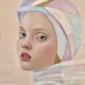 Jennifer Chalklen, Always & Together, acrylic on board, 30.5cm x 41cm, $1250